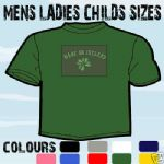 MADE IN IRELAND ST PATRICK T-SHIRT ALL SIZES & COLOURS